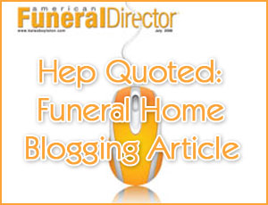 Funeral Industry Blogging
