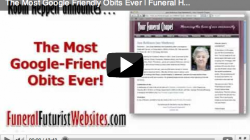 The Most SEO – Google Friendly Obits Ever!