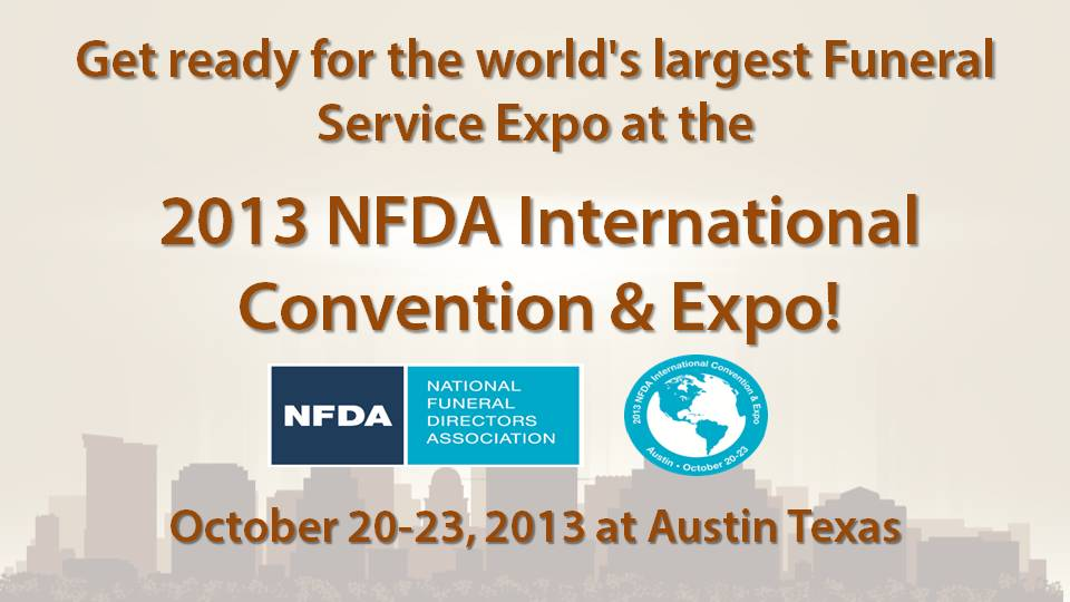 Free Pass to NFDA 2013 in Austin – Complimentary One Day, Expo Only Registration Form