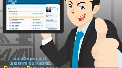 Press Release: Funeral Champions Unite To Create Funeral Industry Supersite: FuneralGurus.com