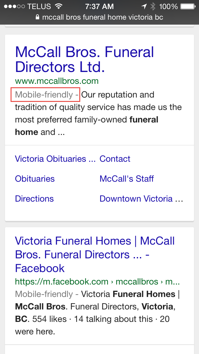 Are You Mobile Ready Google Is Watching Funeral